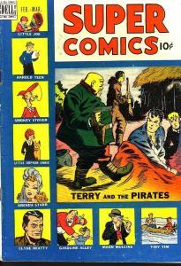 SUPER COMICS #121 BRENDA STARR EGYPTIAN COLLECTION 1949 VG