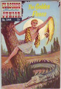Classics Illustrated Junior #544 (Nov-57) VG/FN Mid-Grade Jason and the Argon...