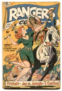 Rangers Comics #47 1949- Alamo- Glory Forbes G