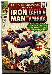 TALES OF SUSPENSE #76 Marvel Silver-Age-IRON MAN-CAPTAIN AMERICA
