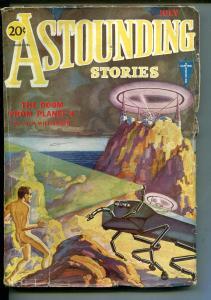 ASTOUNDING STORIES 07/1931-CLAYTON-NUDE MAN-ZAGAT-WESSO-HAMILTON-PULP-vg+
