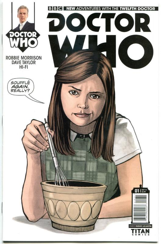 DOCTOR WHO #1 D, NM, 12th, Variant, Tardis, 2014, Titan, 1st, more DW in store