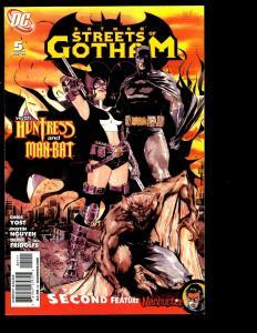 Lot of 8 Streets of Gotham DC Comic Books 9 8 7 5 4 3 2 1 Batman Joker SM11