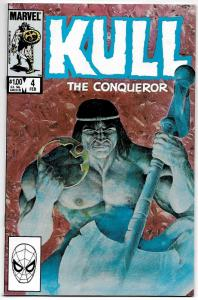 Kull The Conqueror #4 (Marvel, 1984) VF/NM