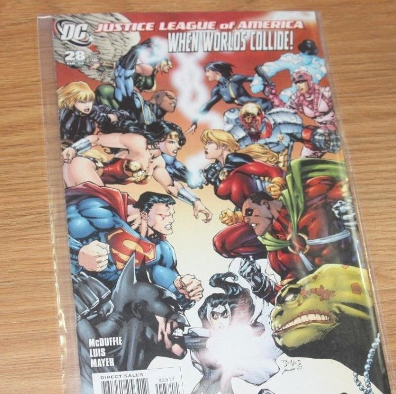 Justice League of America #28 (Feb 2009, DC)   SUPERMAN BATMAN WONDER WOMAN