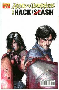 ARMY OF DARKNESS HACK SLASH #1, NM-, 2013, Horror, more AOD in store