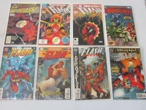 Flash Annual Lot 8 Different Books 8.0 VF (1988-1999)