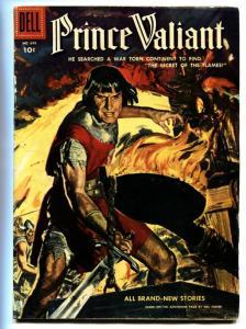 PRINCE VALIANT FOUR COLOR #699 1956-DELL COMICS-WAR VG