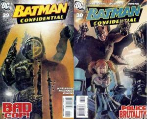 BATMAN CONFIDENTIAL (2007) 29-30  Good Cop...Bad Cop