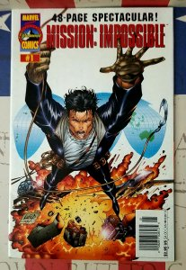 RARE Newsstand Error Recall MISSION IMPOSSIBLE  #1 VF+ Variant 1996 VINTAGE