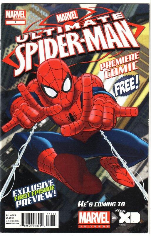 Ultimate Spider-Man Premiere Comic (2012) #1 FN Eliopoulis, Dini