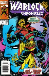 Warlock Chronicles #2 (Newsstand) VG; Marvel | low grade comic - save on shippin