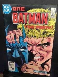 Batman #403 (1987) high-grade Two Face, 1st Tommy Karma key! VF/NM wow!