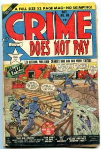 Crime Does Not Pay #80 1949- Golden Age- Fred Guardineer G-