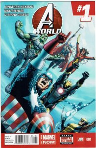 Avengers World #1 Jonathan Hickman NM