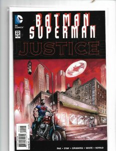 BATMAN SUPERMAN #22 DC NM 1st PRINT   nw131