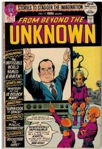 FROM BEYOND THE UNKNOWN 17 FN July 1972 Nixon cvr