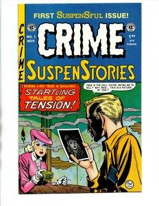 Crime SuspenStories #1 - EC Comics Reprint - Near Mint