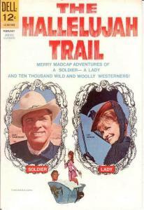 HALLELUJAH TRAIL MOVIE CLASSICS VF  February 1966 COMICS BOOK
