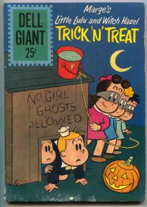 Dell Giant #50 1961- Little Lulu and Witch Hazel Trick 'N' Treat G