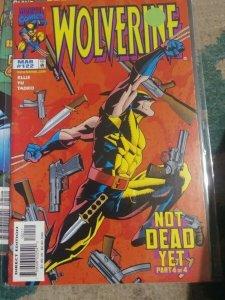 WOLVERINE # 122 1998 marvel NOT DEAD YET PT 4  WHITE GHOST X MEN  AVENGER MUTANT