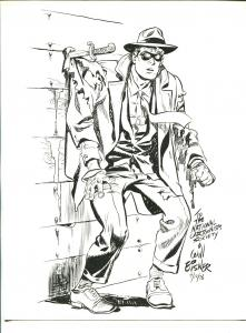 Spirit Print - National Cartoonists Society -  Will Eisner-8 1/2 x 11-FN