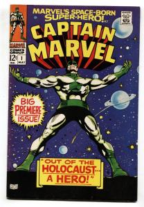 CAPTAIN MARVEL #1 First issue-1968-COSMIC MARVEL VF