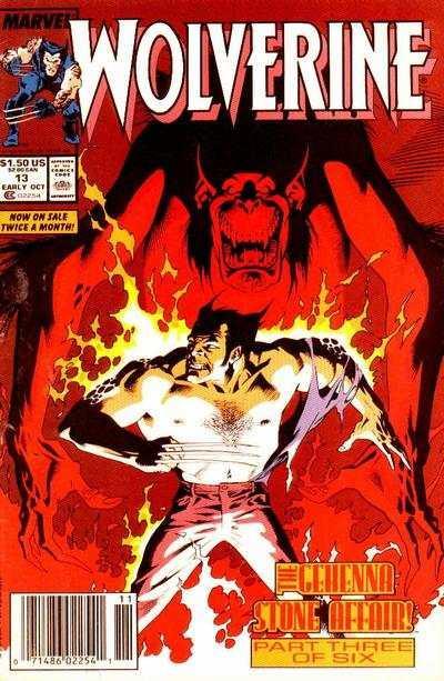 Wolverine (1988 series) #13, VF+ (Stock photo)