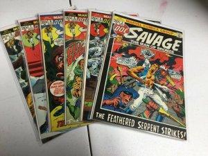 Doc Savage Man Of Bronze 2 3 4 5 7 8 Nm Near Mint Marvel Comics