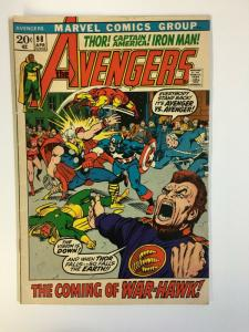 AVENGERS 98 VG-F April 1972 Barry Smith classic