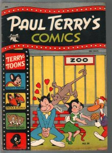Paul Terry's Comics #91 1952-St. John-Mighty Mouse-Heckle & Jeckle-VG