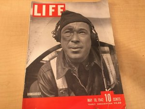 2 Large Magazines Life Bombardier 1942 FlyPast Book of the Flying Fortress JKT2
