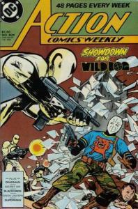 Action Comics (1938 series) #604, VF+ (Stock photo)