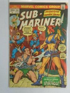 Sub-Mariner #64 3.5 VG- (1973 1st Series)