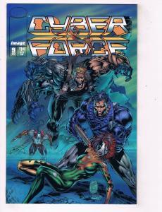 Cyberforce (1993 2nd Series) #9Image Comic Book Todd McFarlane HH4 AD38