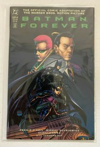 Batman Forever #0 DC Official Movie Adaptation 6.0 FN (1995) Newsstand