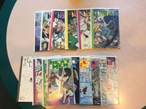 John Byrnes Nextmen 0-12 14 Book Lot Plus Bonus 1 2 3 4 5 6 7 8 9 10