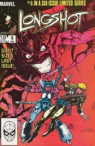 Longshot #6 FN; Marvel | save on shipping - details inside