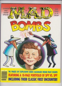 MAD BOMBS SUMMER 1987 SUPER SPECIAL E.C. PUBLICATIONS / VF CONDITION