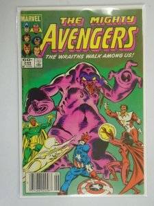 Avengers #244 Newsstand edition 7.0 FN VF (1984 1st Series)