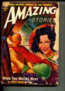 Amazing Stories-Pulp-4/1950-Robert Moore Williams-Paul Lohrman