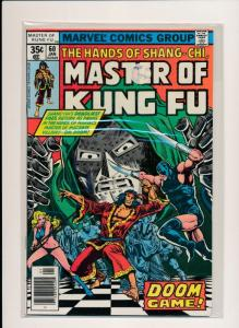 MARVEL  Master of Kung Fu DOOM GAME #60 FINE/VERY FINE (HX696)