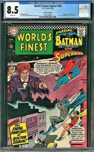 World's Finest #160 (DC, 1966) CGC 8.5 - John G. Fantucchio Pedigree