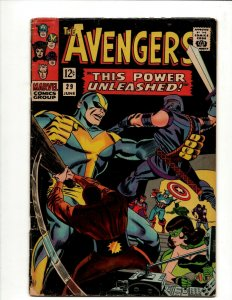 Avengers # 29 FN- Marvel Comic Book Hulk Thor Iron Man Captain America BJ1
