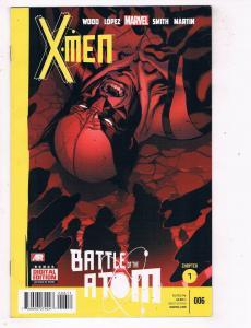 X-Men #6 VF Marvel Comics Battle Of The Atom Modern Age Comic Book Wood DE48