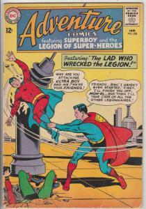 Adventure Comics #328 (Jan-65) FN+ Mid-High-Grade Legion of Super-Heroes, Sup...