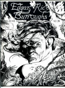 Edgar Rice Burroughs News Dateline #36 1989-Tarzan-new format issue-VF