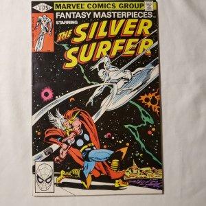 Fantasy Masterpieces 4 Very Fine/Near Mint Reprints Silver Surfer