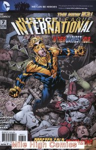 JUSTICE LEAGUE INTERNATIONAL (2011 Series)  (DC NEW52) #7 Very Fine Comics Book