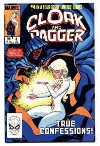 Cloak and Dagger #4-1983 Marvel Comic Book High Grade NM